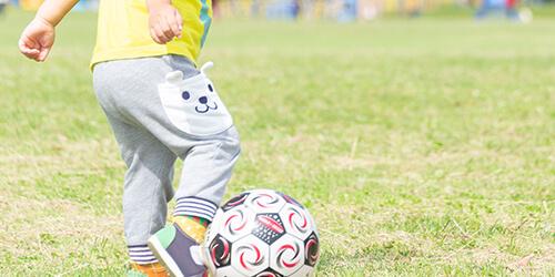 プログラム写真:サッカー・運動療育
